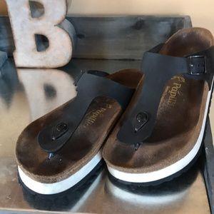 Birkenstock platform sandals